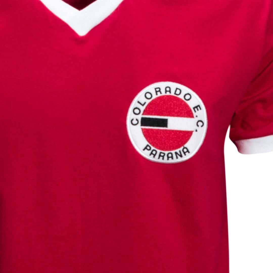 Camisa Liga Retrô Colorado 1980 - Vermelho - Compre Agora  f8c3192eb75ca