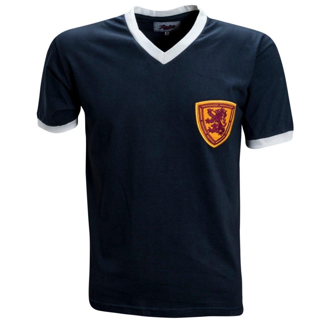 Camisa Liga Retrô Escócia 1950´s - Marinho - Compre Agora  1055849241e