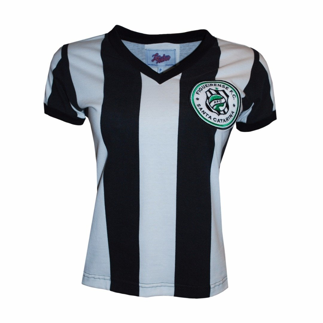 Liga Preto Camisa 1973 Figueirense Branco Retrô Camisa Liga e 4HEYwvEq7n
