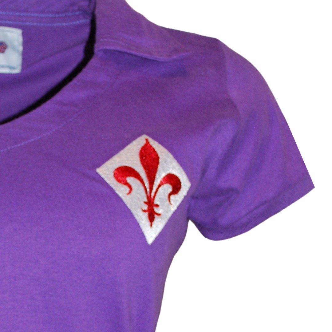 Camisa Fiorentina Retrô Roxo Retrô Camisa Roxo 1956 Camisa Liga Liga 1956 Liga Fiorentina rwrgqZa