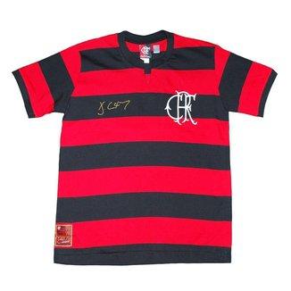 Camisa Liga Retrô Flamengo Júlio César 1979 Infantil