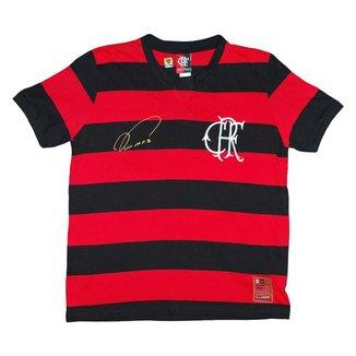 Camisa Liga Retrô Flamengo Nunes 1979 Infantil
