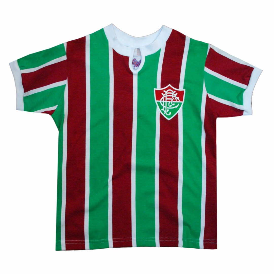 Camisa Liga Retrô Fluminense 1976 - Vermelho e Verde - Compre Agora ... 0f4971cd4de8b