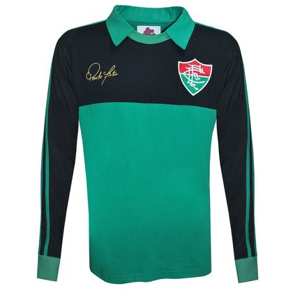 Camisa Liga Retrô Fluminense 1988 Goleiro Longa - Paulo Victor P