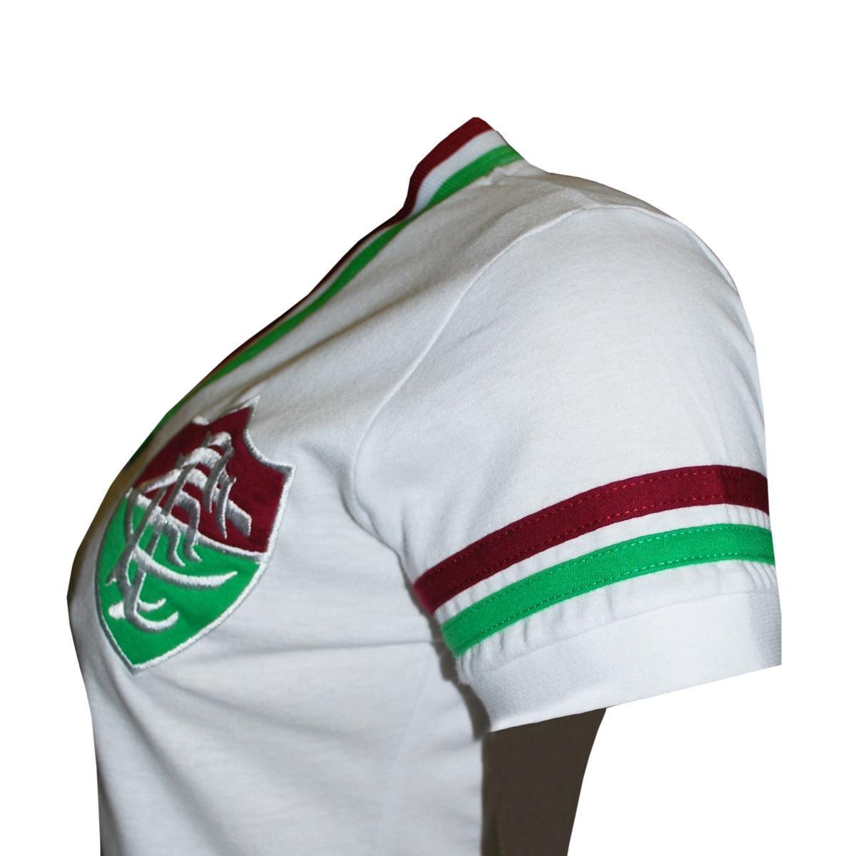Camisa Liga Retrô Fluminense Mundial 1952 Feminino - Compre Agora ... f49be0fa7e20a