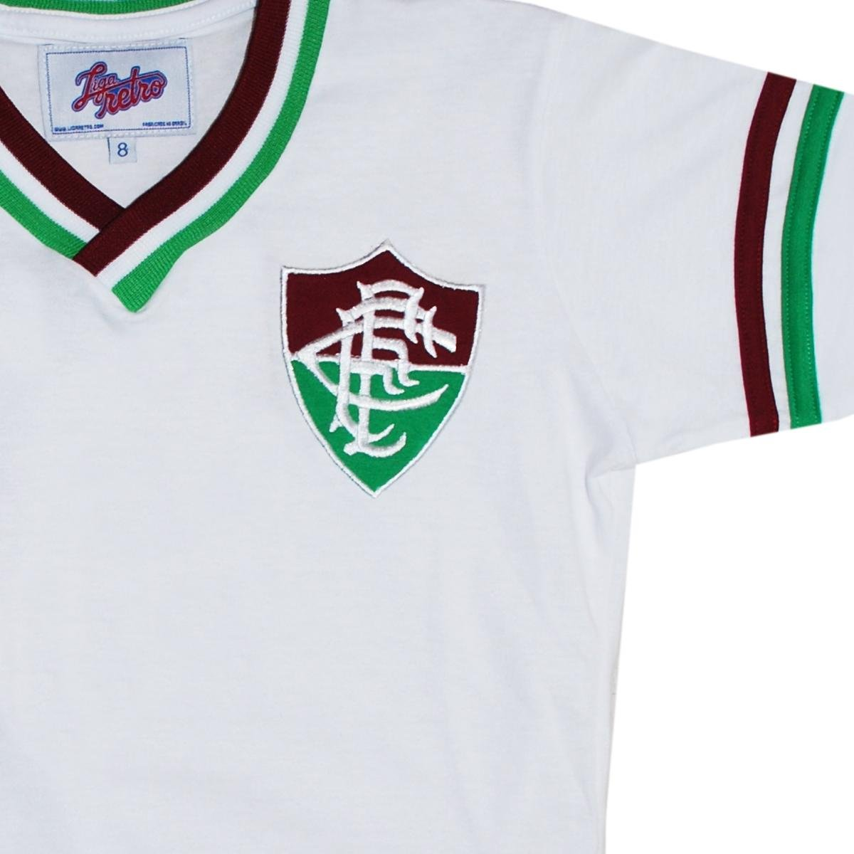 Camisa Liga Retrô Fluminense Mundial 1952 Infantil - Compre Agora ... 46a4a4b413346