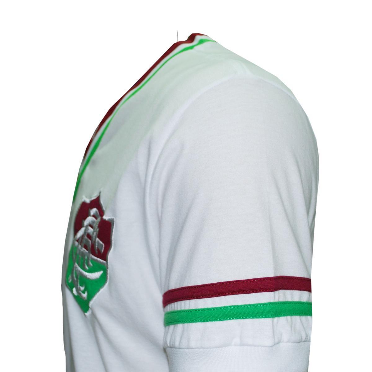 Camisa Liga Retrô Fluminense Mundial 1952 - Branco - Compre Agora ... 8966a94d57d3c