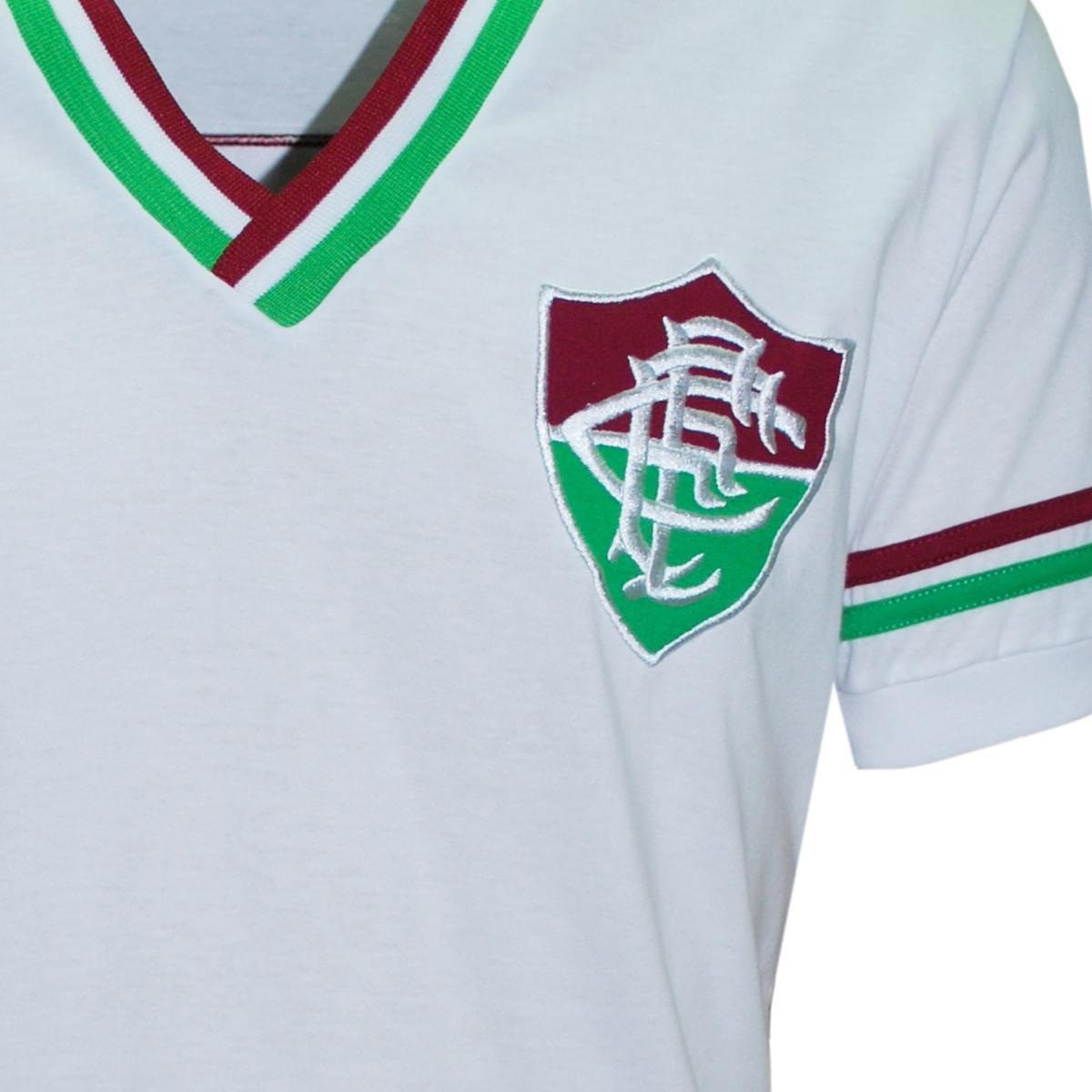 Camisa Liga Retrô Fluminense Mundial 1952 - Branco - Compre Agora ... 861e06fa8230b