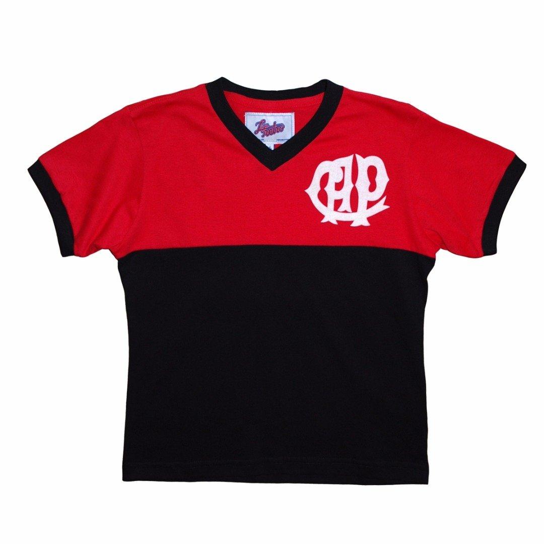 Retrô Liga Camisa Atlético Preto PR e Infantil 1982 Vermelho aHTFvq5