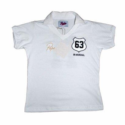 Camisa Liga Retrô Infantil Pepe 1963 - Unissex