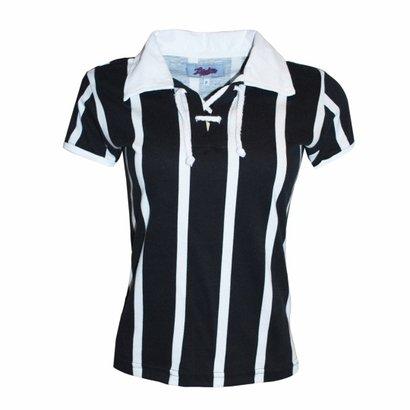 Camisa Liga Retrô Listrada 2 Corda - Feminino