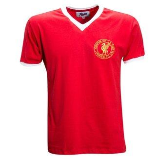 Camisa Liga Retrô Liverpool 1977 Masculina