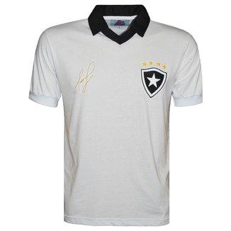 Camisa Liga Retrô Mauricio Ex jogador Botafogo 1989 Masculina