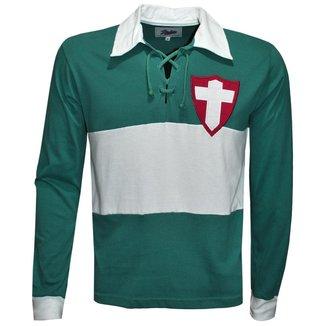Camisa Liga Retrô Palmeiras Palestra Italia 1916 Longa Masculina