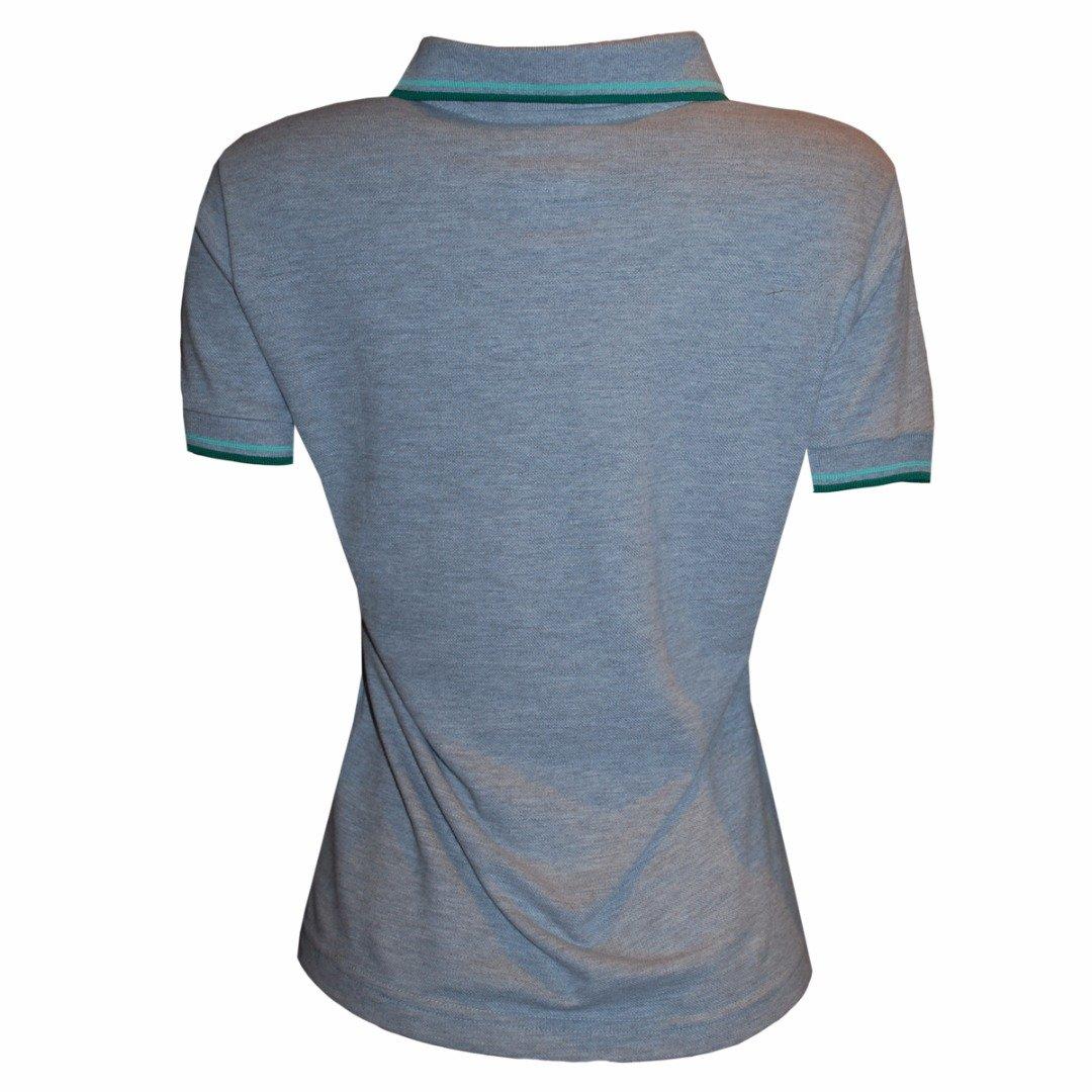 Camisa Camisa Wimbledon Liga Tenis Polo Cinza Liga Retrô 8p5qdCHqw