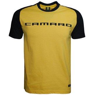 Camisa Liga Retrô Premium Camaro Raglan Masculina