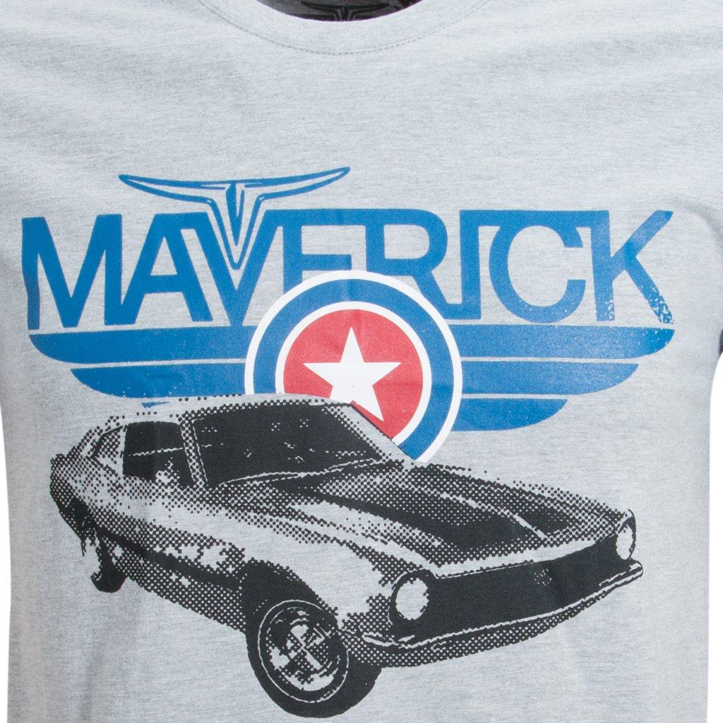 Camisa Liga Retrô Premium Ford Maverick - Cinza - Compre Agora ... 027ec63fd8df4