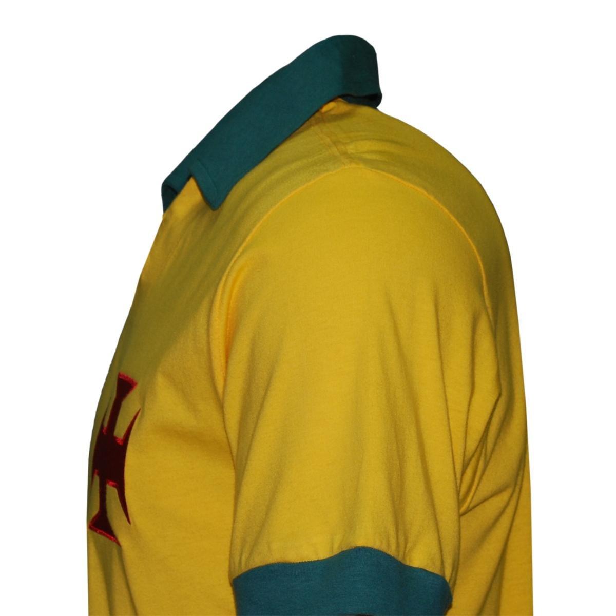 Camisa Liga Retrô Vasco Brasil Masculina - Edição Limitada - Compre ... 5ae796530087a