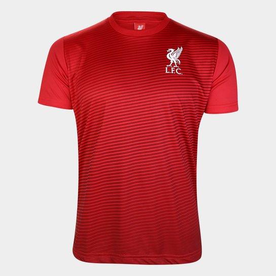 Camisa Liverpool Antony Masculina - Vermelho