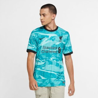 Camisa Liverpool Away 20/21 s/n° Torcedor Nike Masculina