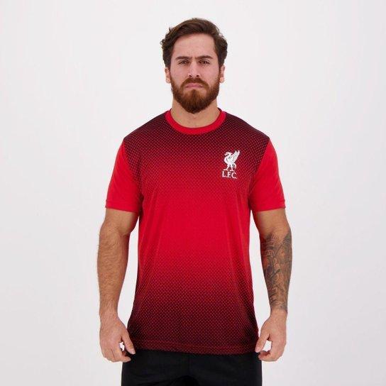 Camisa Liverpool Derick - Vermelho