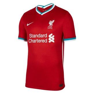 Camisa Liverpool Home 20/21 s/n° Torcedor Nike Masculina
