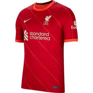 Camisa Liverpool Home 21/22 s/n° Torcedor Nike Masculina
