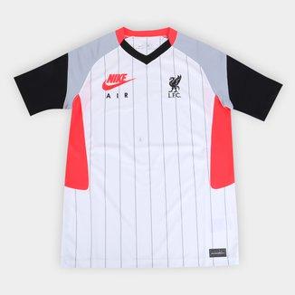 Camisa Liverpool Juvenil Air Max 21/22 Nike