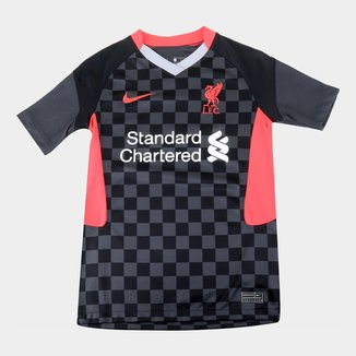 Camisa Liverpool Juvenil Third 20/21 s/n° Torcedor Nike