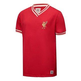 Camisa Liverpool Retrô Anos 70 Masculina