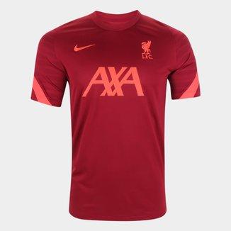 Camisa Liverpool Treino 21/22 Nike Masculina