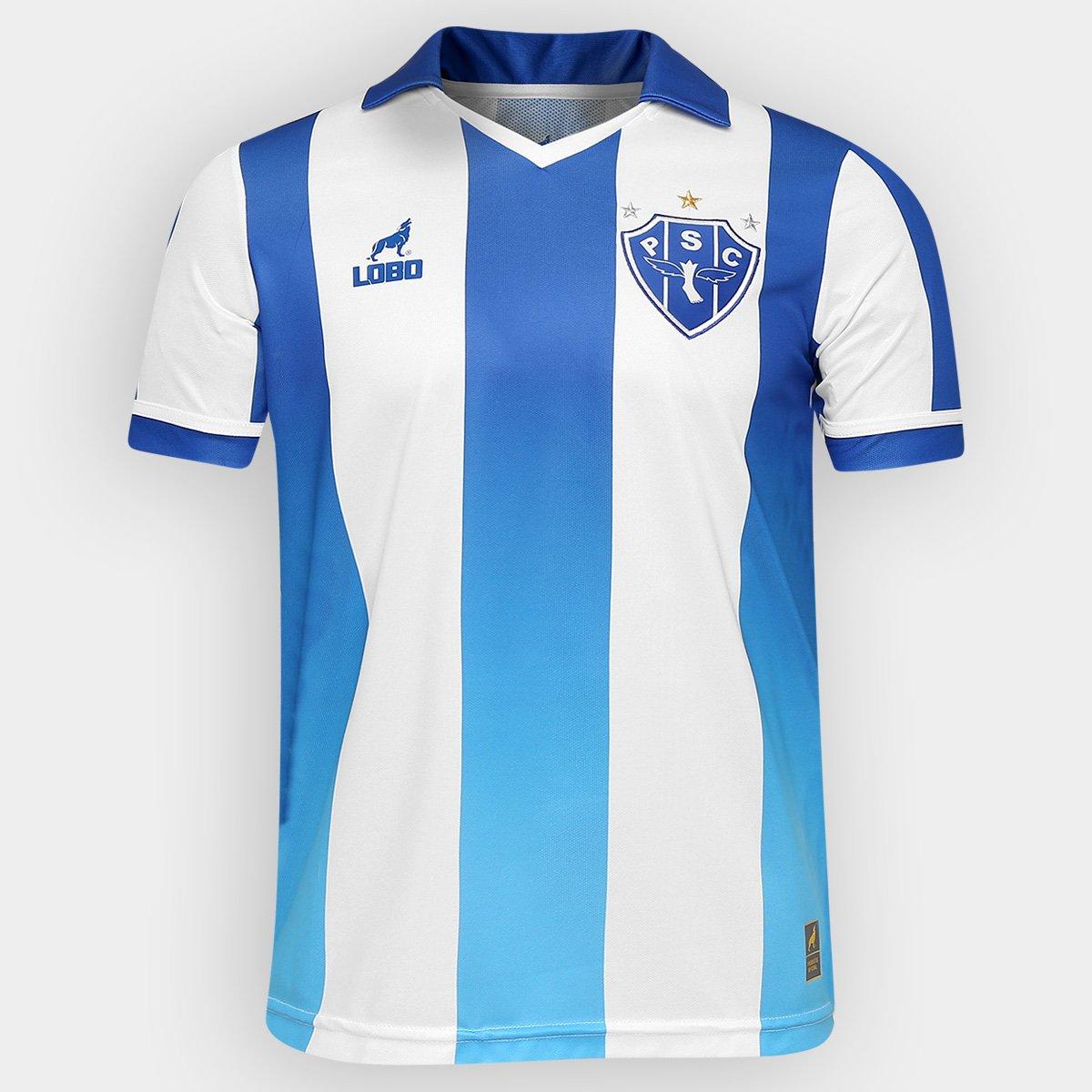 Camisa Lobo Paysandu I 2016 nº 7 - Compre Agora  81cc4009e029e