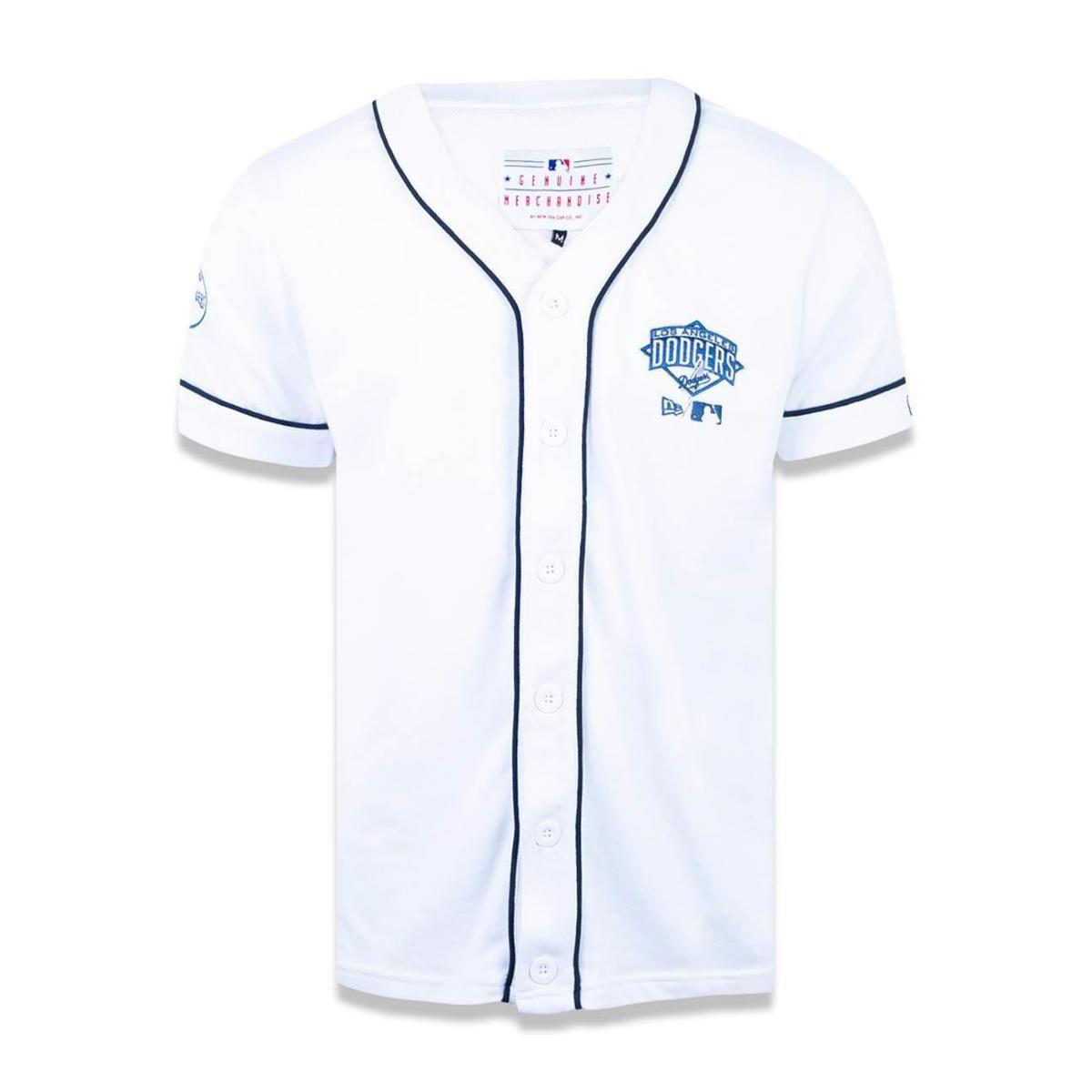 2850a46fd Camisa Los Angeles Dodgers MLB New Era Masculina - Branco - Compre Agora