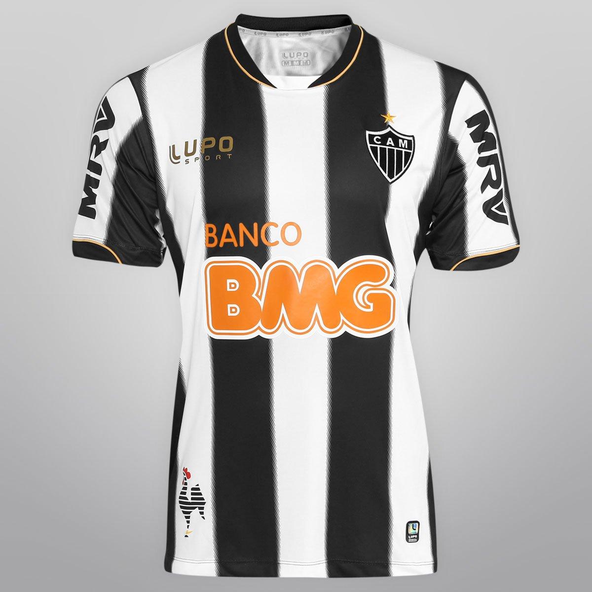Camisa Lupo Atlético Mineiro I 13 14 nº 12 - Compre Agora  daca080e3b5a5