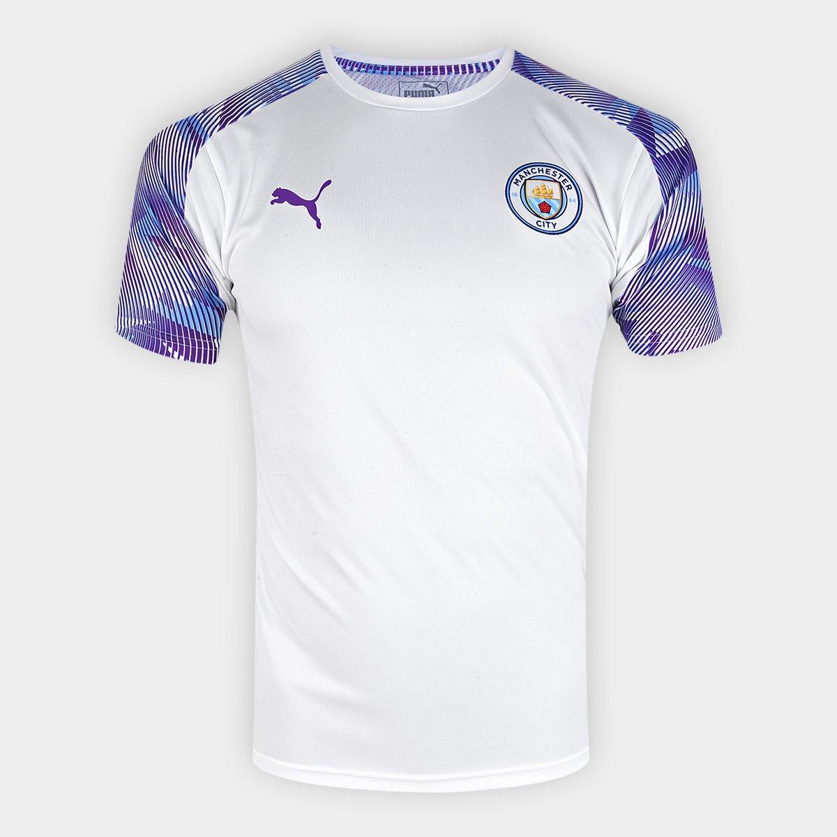 capitalismo Corte Quemar  Camisa Manchester City 19/20 Treino Puma Masculina | Netshoes