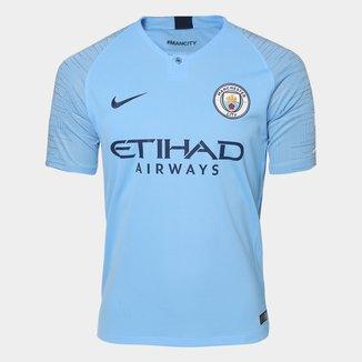 Camisa Manchester City Home 2018 s/n° - Torcedor Nike Masculina