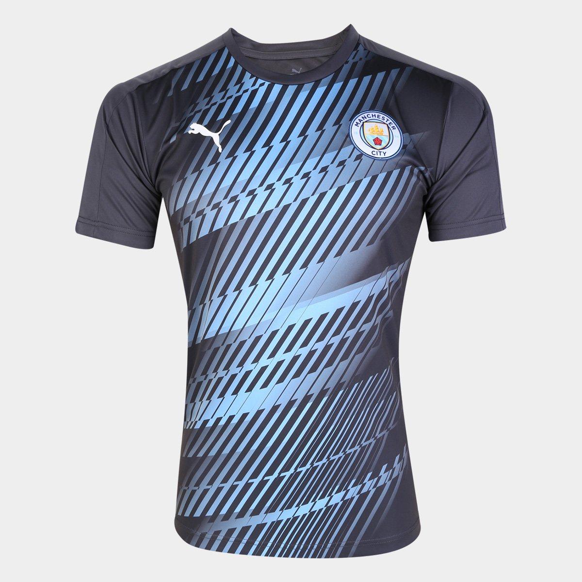Tranvía kiwi Adolescente  Camisa Manchester City Puma Stadium Masculina | Netshoes
