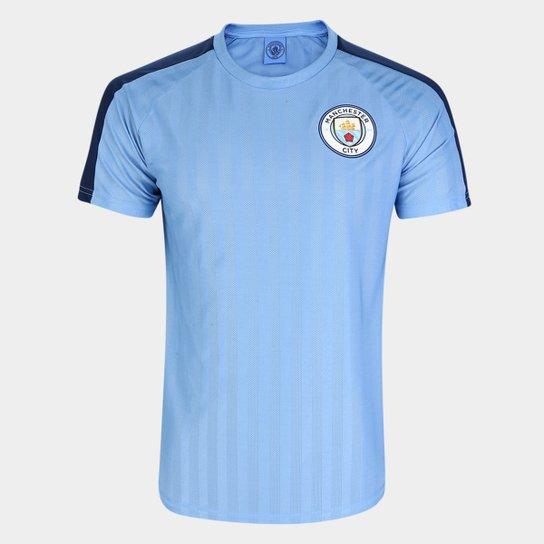 Camisa Manchester City The Citizens Masculina - Azul