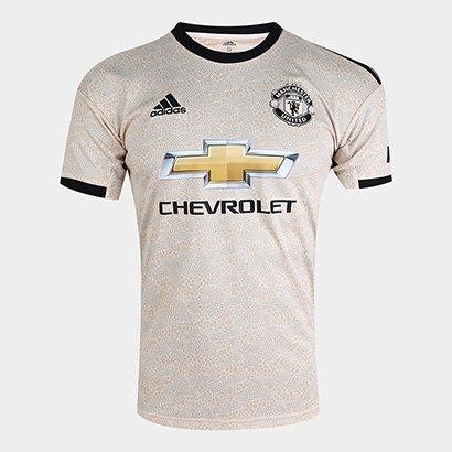 Camisa Manchester United Away 19/20 s/nº Torcedor Adidas Masculina