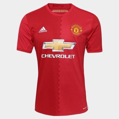 e8acedfc5ec A Camisa Manchester United Home 16 17 s nº Torcedor Adidas Masculina vai  encher