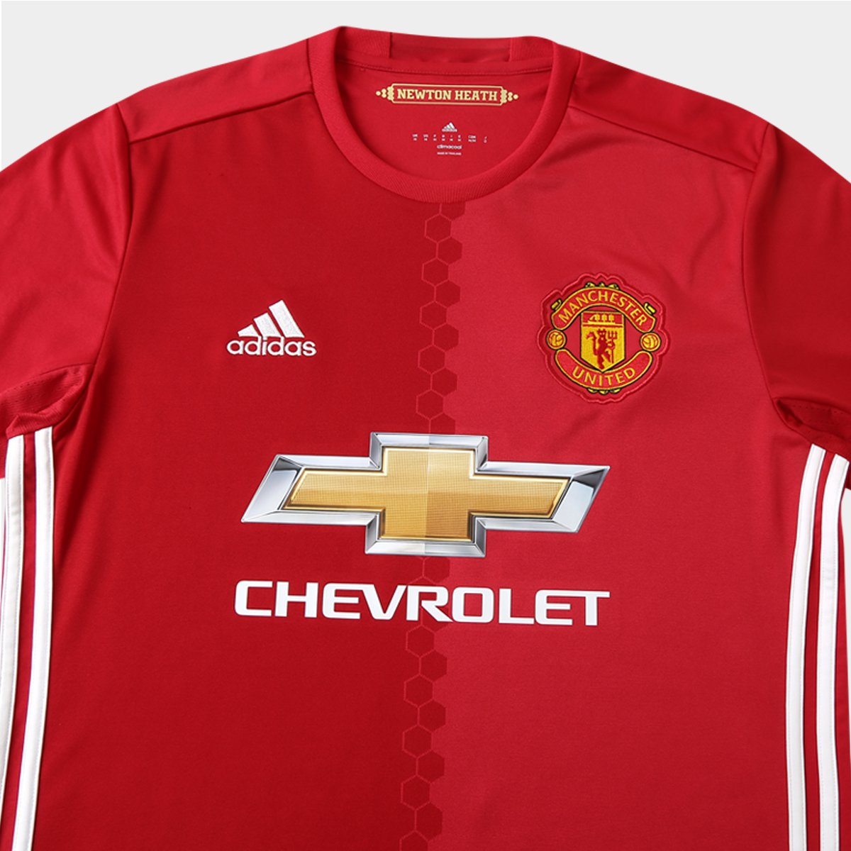 a322bb5838 Camisa Manchester United Home 16 17 s nº Torcedor Adidas Masculina ...
