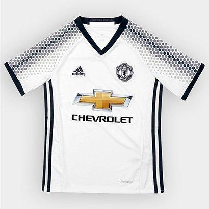 e46cbaa276 Promoção de Camisa manchester united iii 1819 adidas infantil azul ...
