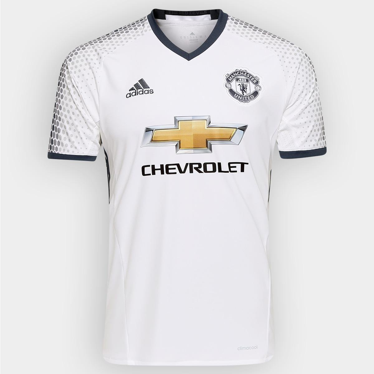 c9f0d1a14 Camisa Manchester United Third 16 17 s nº - Torcedor Adidas Masculina -  Compre Agora