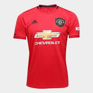 Camisa Manchester United Home 19/20 s/n° Torcedor Adidas Masculina
