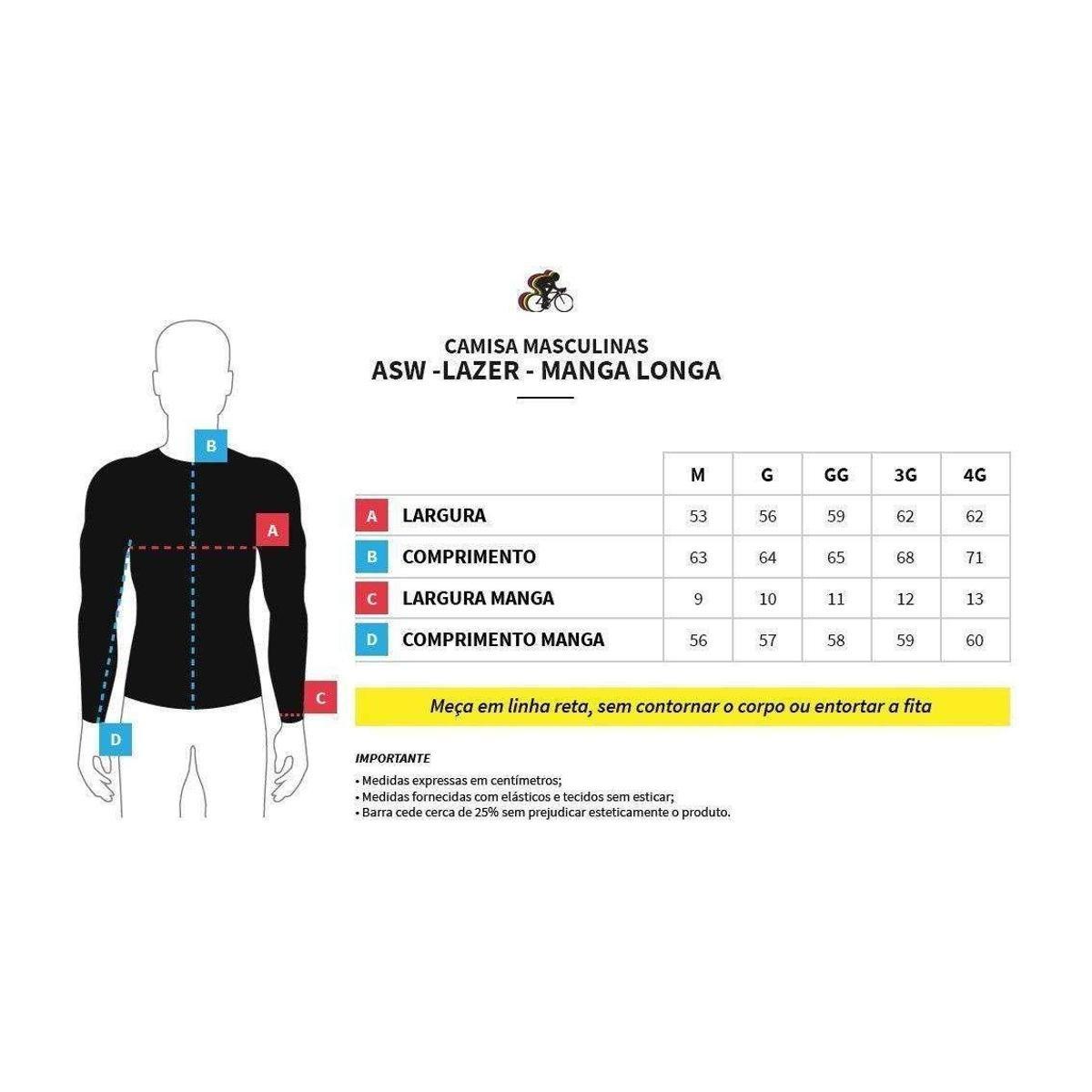 Camisa Manga Longa ASW Fun Frame Masculina - Vermelho - Compre Agora ... eb9ac61c87a