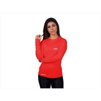 Camisa Manga longa Feminina Repelente Insetos Proteção Solar FPU50+