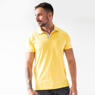 Camisa Masculina Polo Manga Punho Curta Algodão Anticorpus