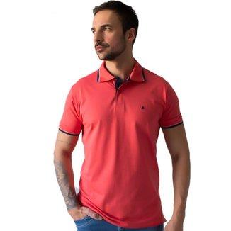 Camisa Masculina Polo Manga Punho Curta Algodão Elastano Anticorpus