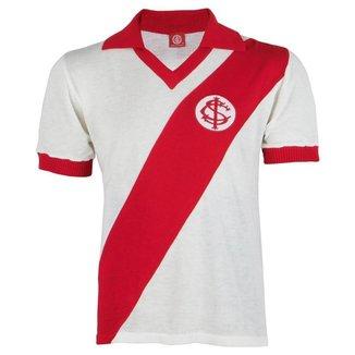 Camisa Masculina Retrô Internacional Gola Polo Bordada Nº 9