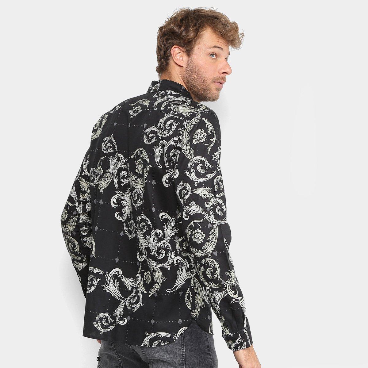 Camisa MCD Toile Arabesc Masculina - Compre Agora  47e9095dd52